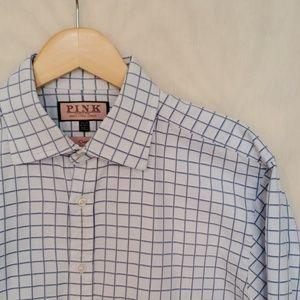 Thomas Pink French Cuff Dress Shirt 16.5